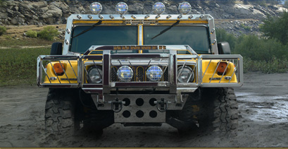 Realwheels Hummer H1 Accessories